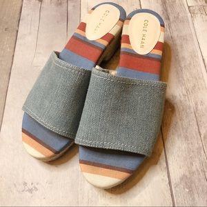 Cole Haan Gisselle Mid Espadrille Sandals  51/2